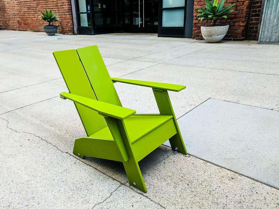 Green, Lawn Chair, Furniture, Design, Sit