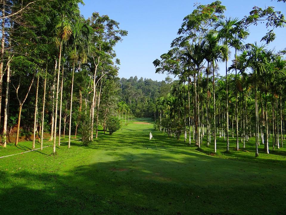 Golf Course, Golf, Sport, Lawn, Ammathi, Karnataka