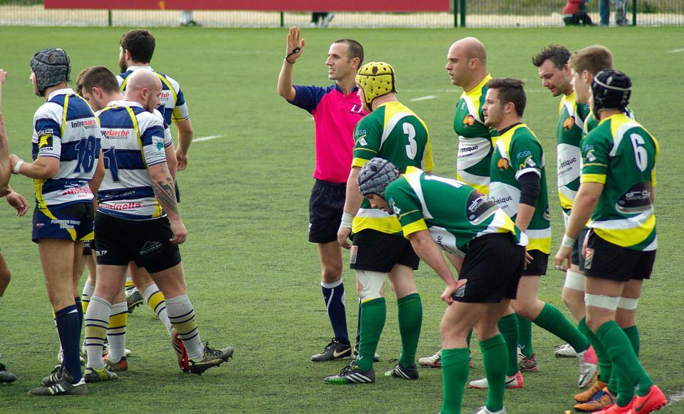 Rugby, Referee, Lawn