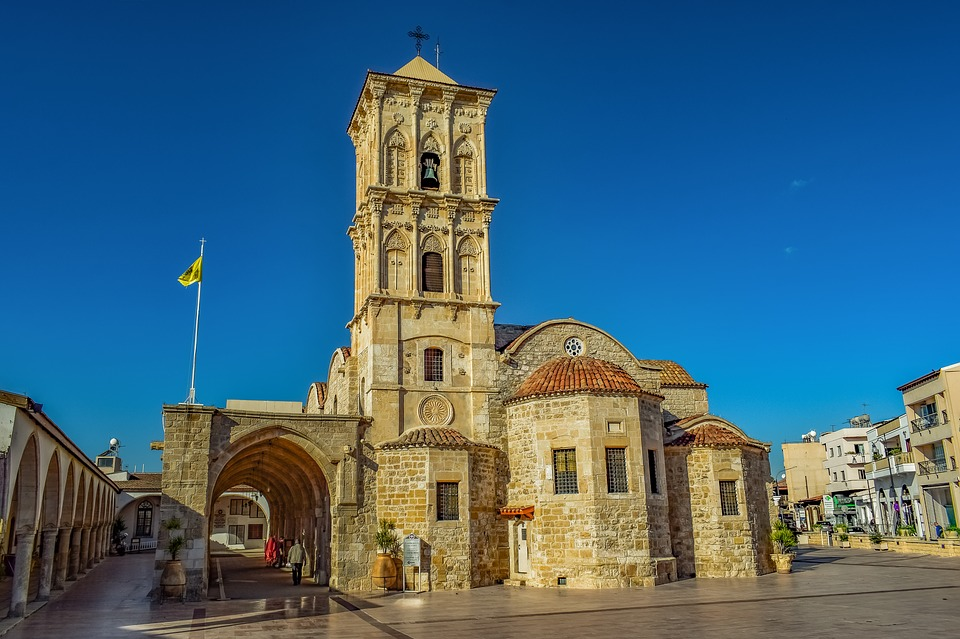 Cyprus, Larnaca, St, Lazarus, Church, 9th Century