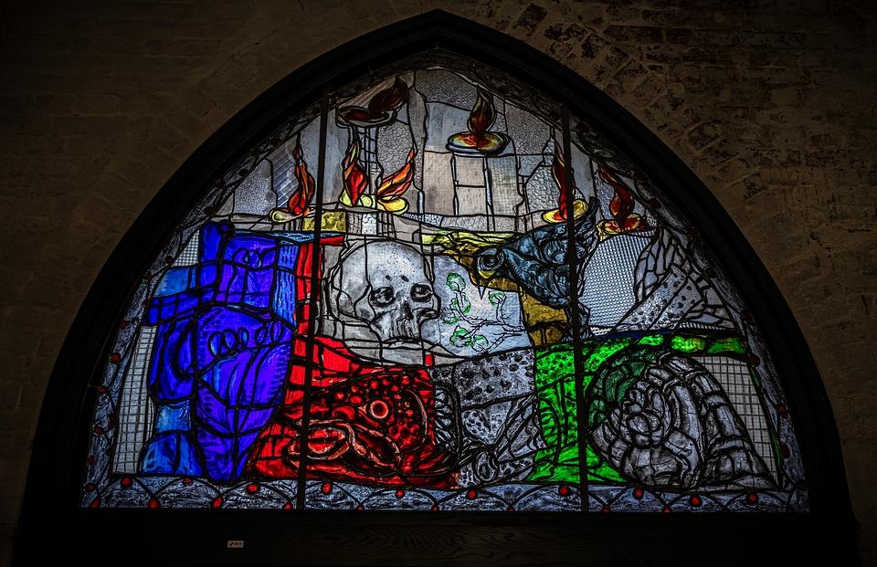 Window, Stained Glass, Lead-glass Window, Glass