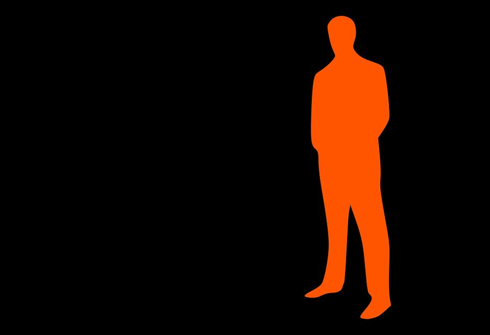 Businessmen, Leader, Group, Business, Men, Orange