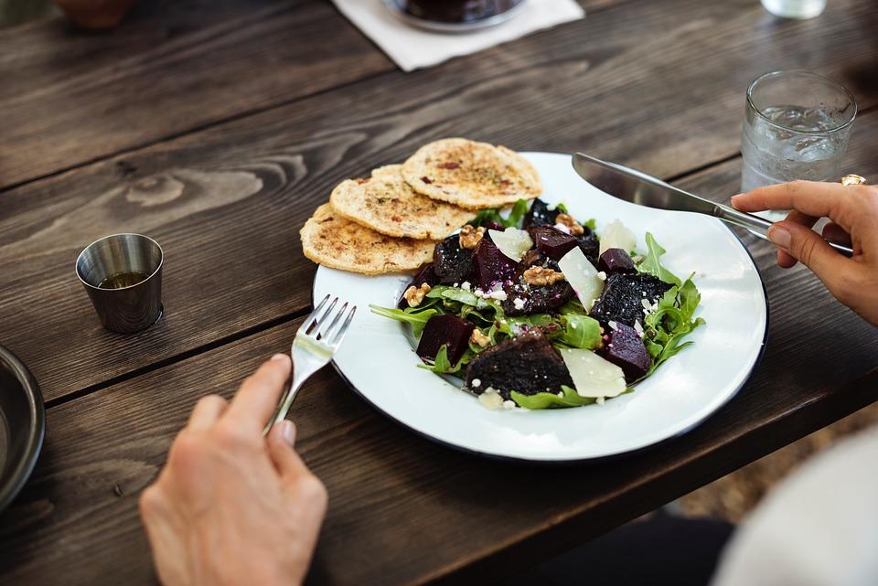 Vegetable, Salad, Food, Health, Green, Leaf, Plate