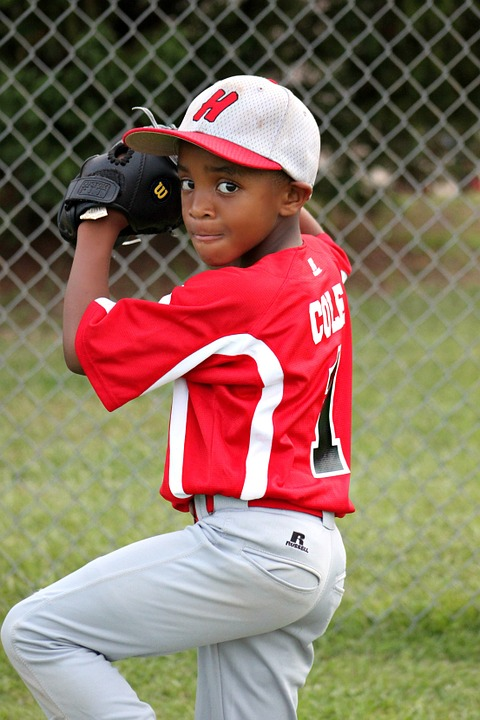 Boy, Player, Baseball, Pitcher, Sport, Ball, League