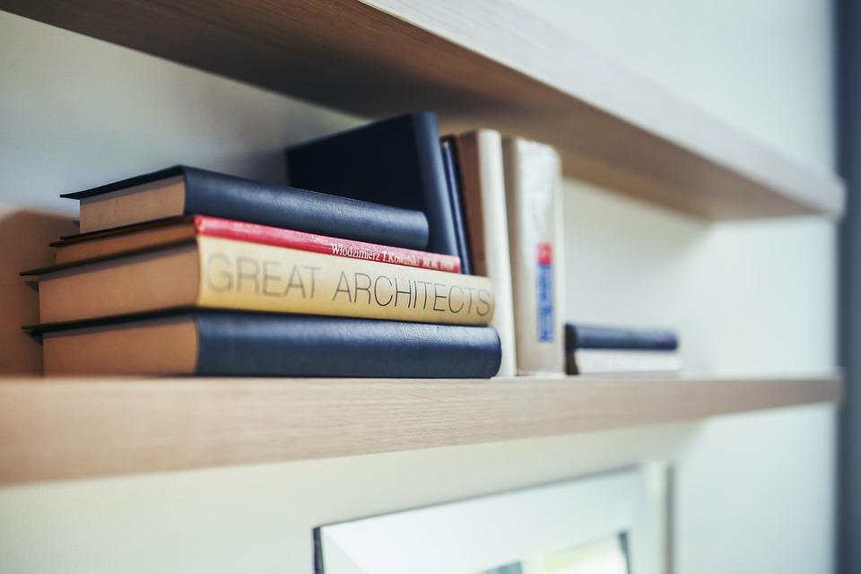 Architect, Book, Books, Shelf, Studying, Learning