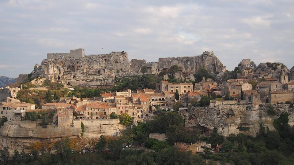 Village, Lease-de-provence, Rock