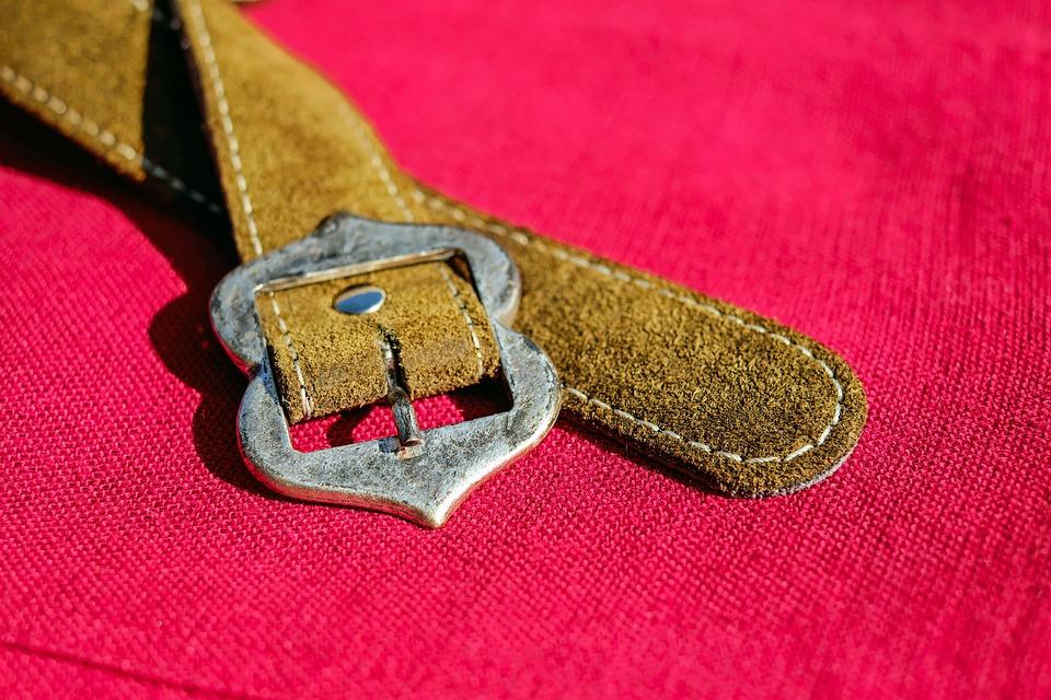 Belts, Belt Buckle, Leather, Metal, Costume, Clothing