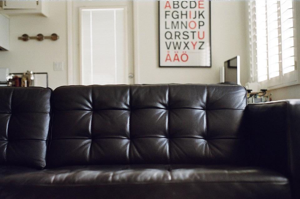 free photo leather couch apartment house letters max pixel