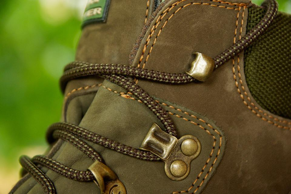Shoe, Laces, Leather, Hiking