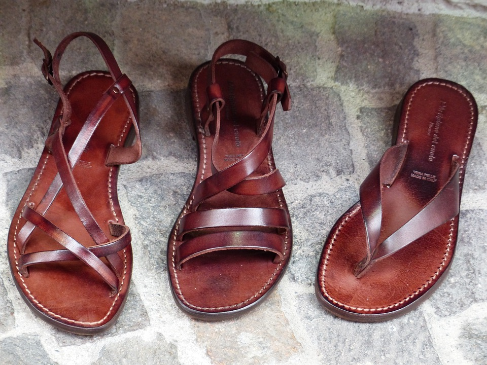 Shoes, Leather Shoes, Women's Shoes, Leather Sandals