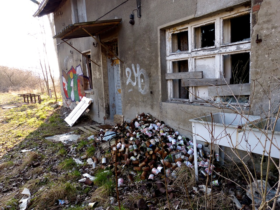 Ruin, Home, Decay, Old, Leave, Ghost Town, Devastation