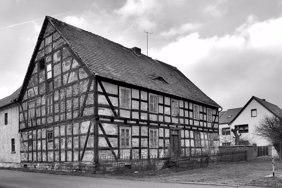 Fachwerkhaus, Old, Leave, Old House, Building, Truss