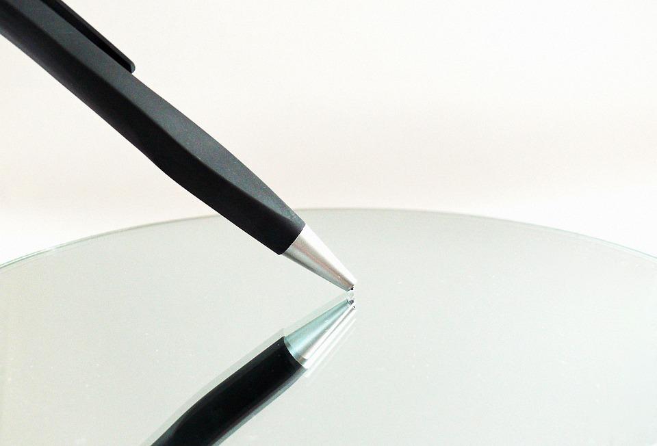 Pen, Writing Implement, Leave, Paper, Writing Utensil