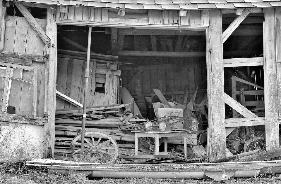 Scale, Leave, Decay, Invaded, Weathered