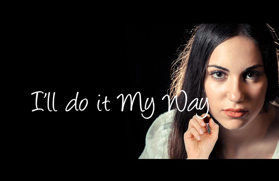 Woman, Leave, Pen, Hand, Self-esteem, Self Liberation