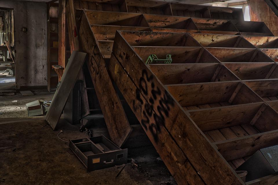 Wood, Shelves, Warehouse, Dirty, Mood, Leave, Old