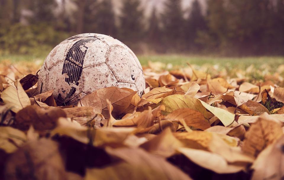 Football, Autumn, Leaves, Sport, Season, Play