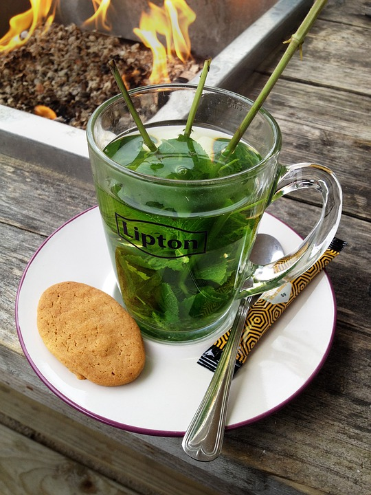 Tee, Peppermint Tea, Mint, Drink, Healthy, Leaves