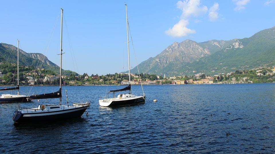 Lecco, Lake, Boat