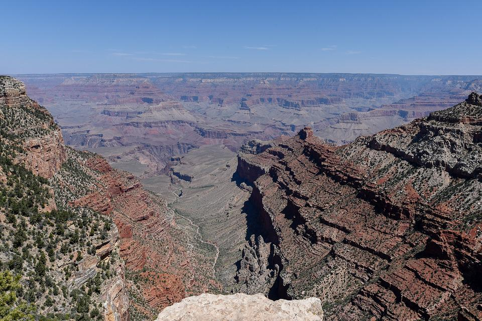 Grand Canyon, Gorge, Ledge, Arizona