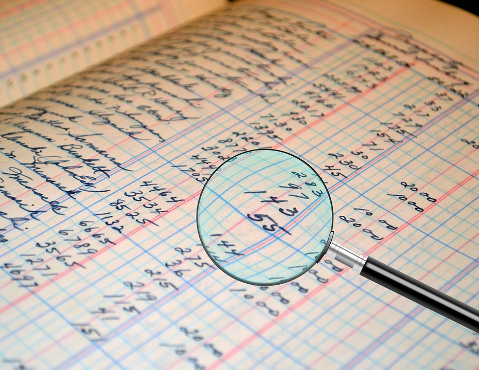 Audit, Accounting, Ledger, Figures, Number, Document