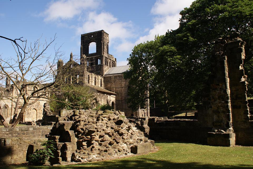 Kirkstall Abbey, Ruins, Ancient Building, Leeds