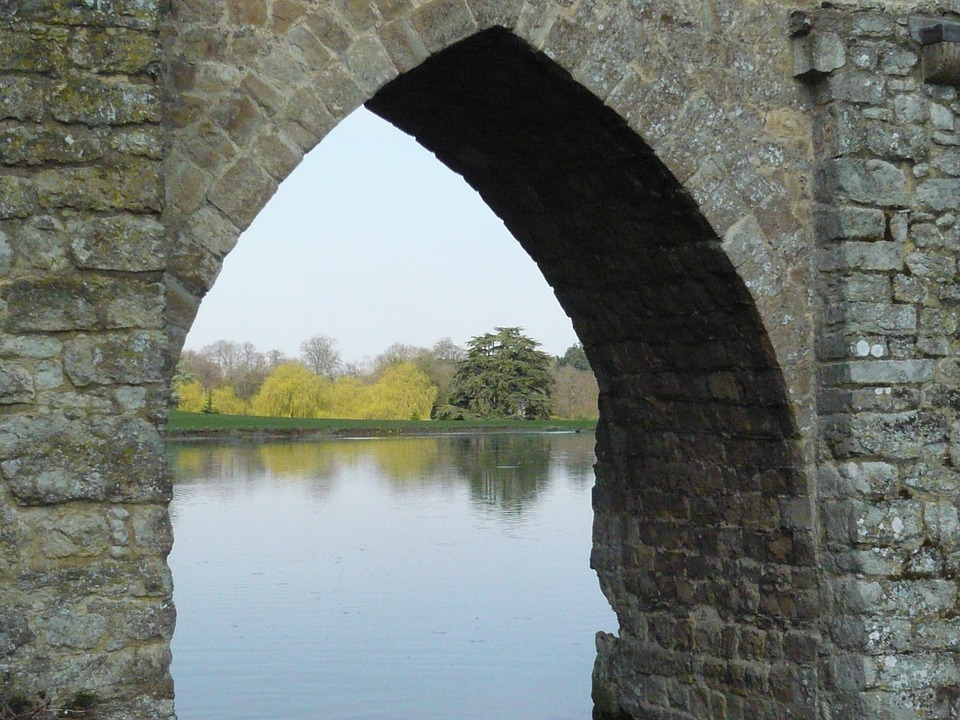 Lake, Leeds, Arch, Architecture