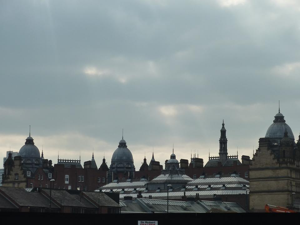 Leeds, Skyline, Architecture, Landmark, City, Cityscape