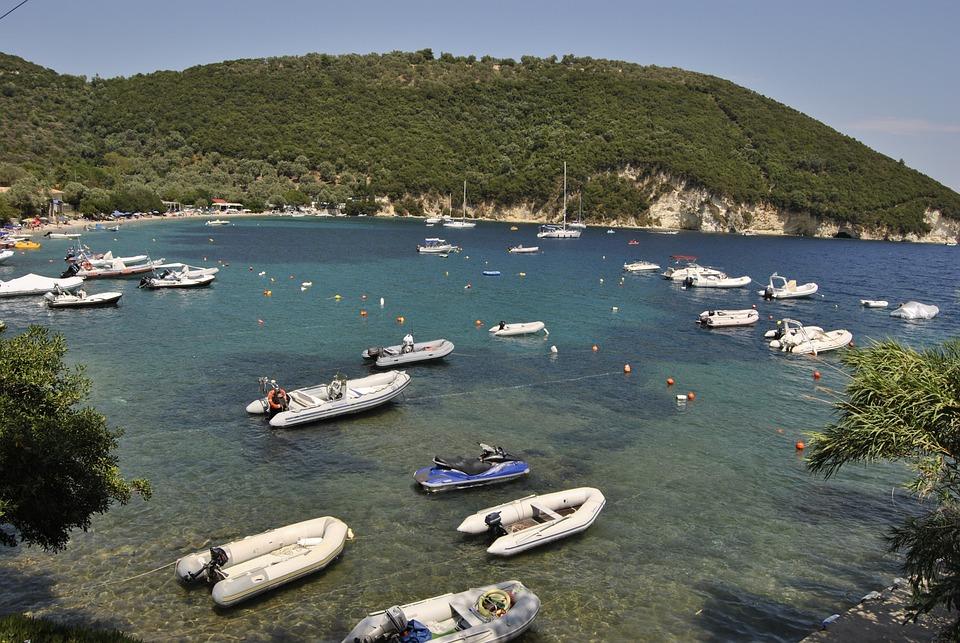 Water, Bay, Travel, Summer, Island, Lefkada, Greece