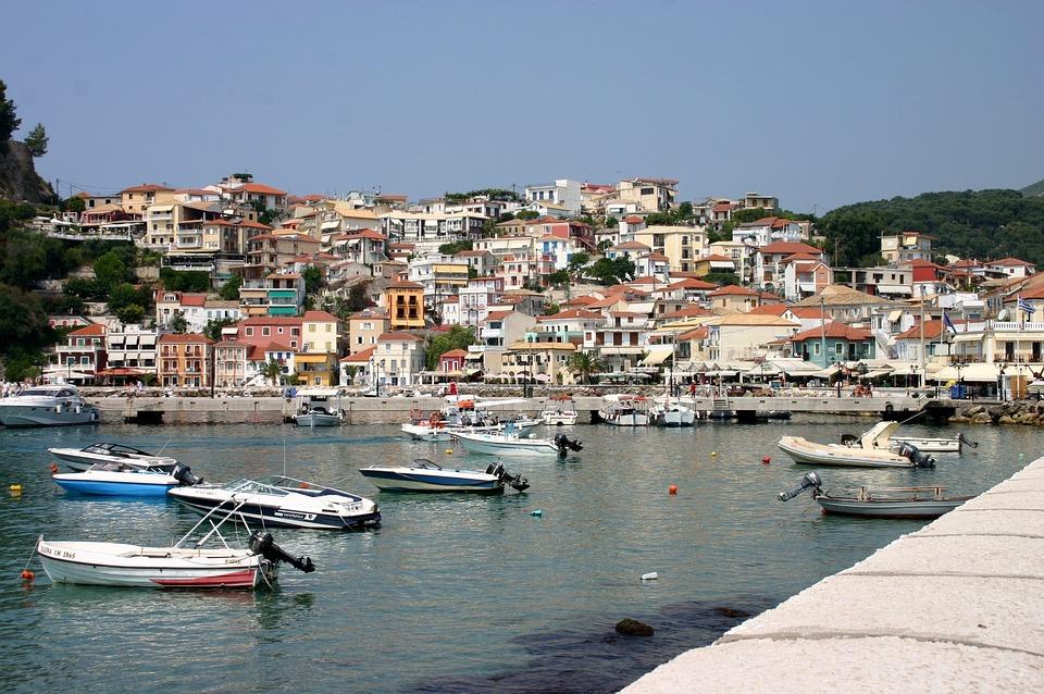 Port, Lefkas, Boat