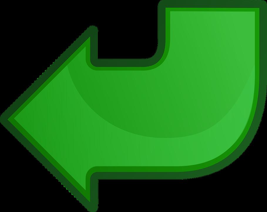 Arrow, Green, Left, Direction, Sign, Icon, Symbol