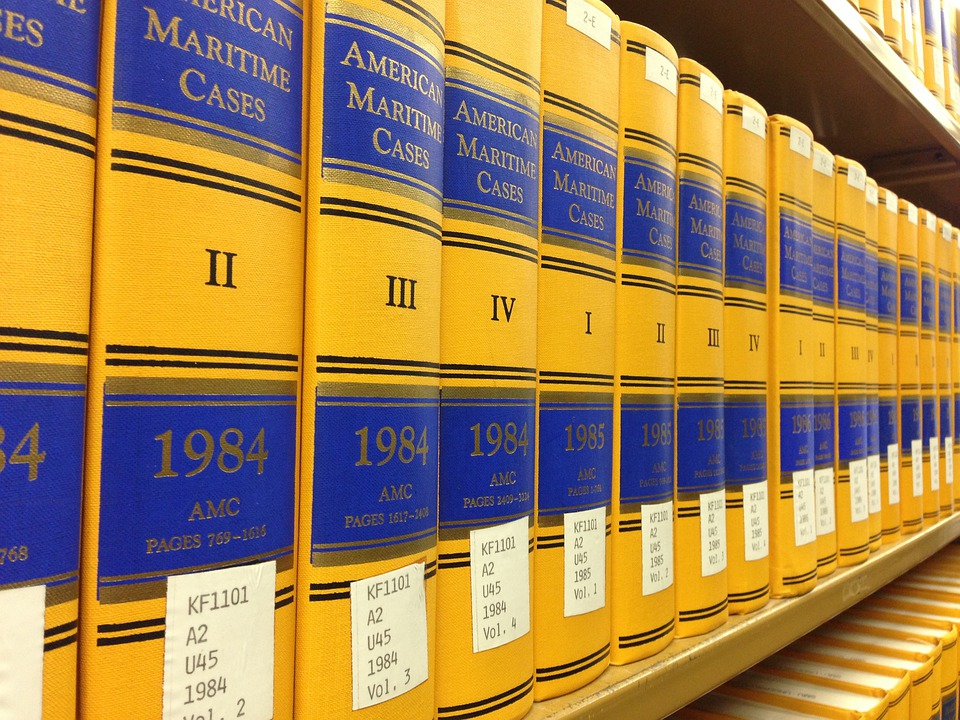 Law Books, Library, Rows Of Books, Book Shelves, Legal