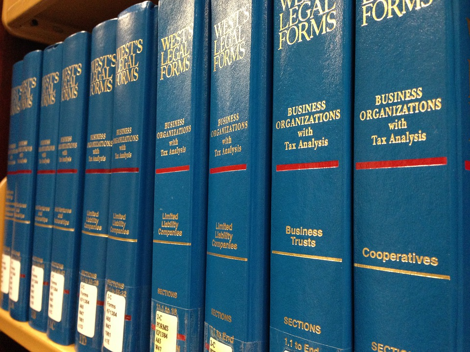 Law Books, Legal Books, Library, Aqua, Marine, Blue