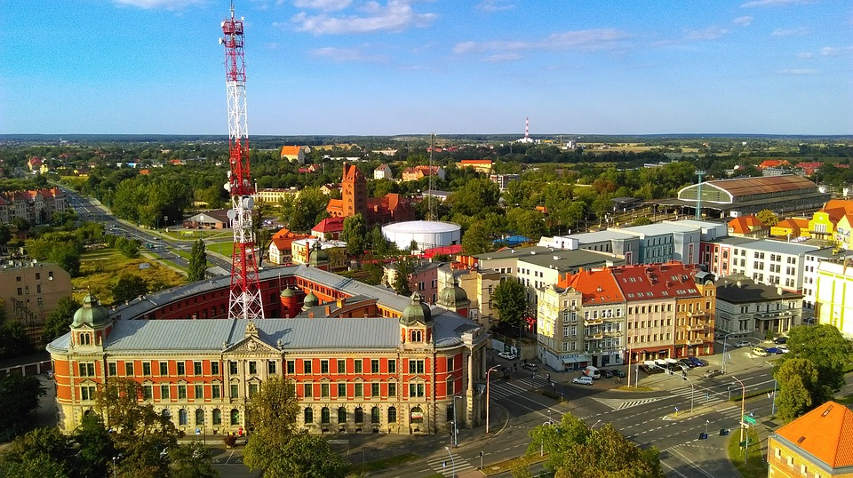 Legnica, Panorama, City, Architecture, The Old Town