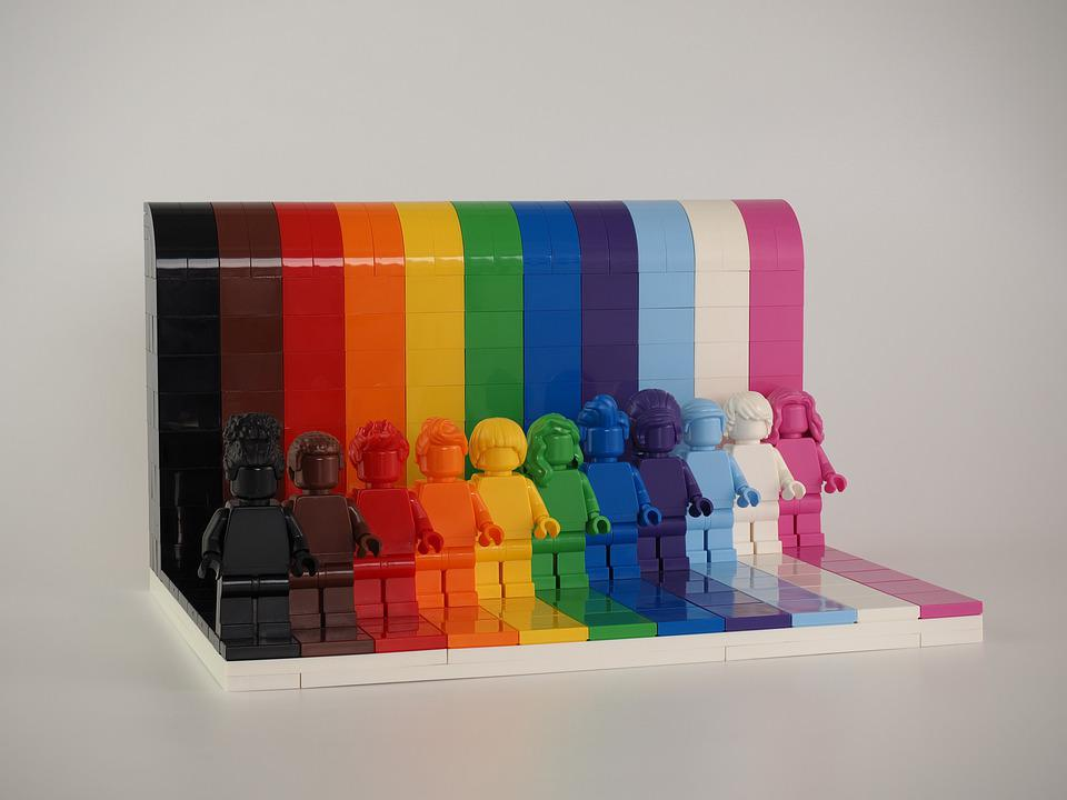 Lego, Lgbtq, Rainbow, Lego Blocks, Everyone Is Awesome