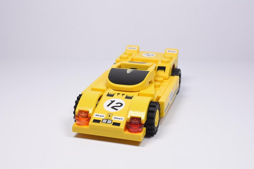Free photo Lego Blocks Lego Yellow Car Back Lego Car - Max Pixel