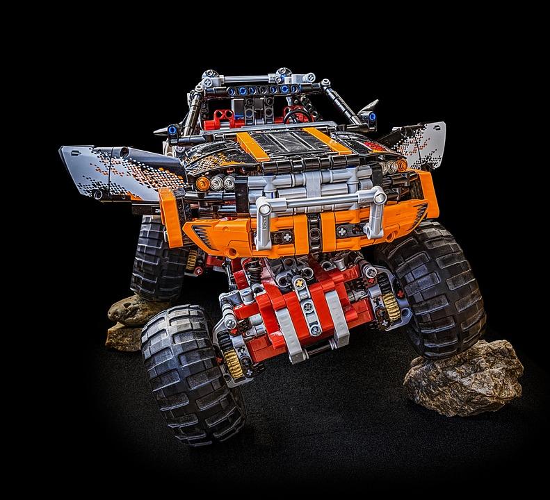 621376a8a4ea40 Free photo Lego Lego Technic Monster Truck Technic Technology - Max ...