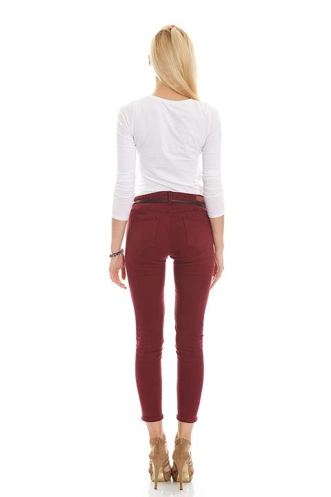 Fashion, Pants, Legs, Back, Fit, Hair, Pose, Model