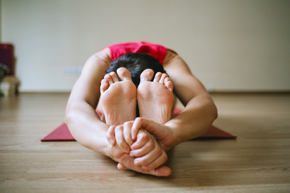 Yoga, Legs, Girl, Sports