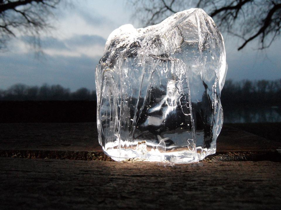 Légtömb, Ice, Winter, Macro