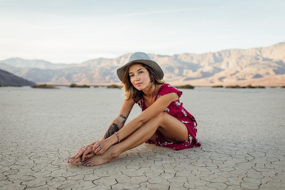 Beach, Girl, Landscape, Leisure, Ocean, Outdoors