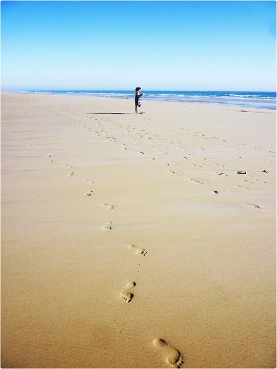 Beach, Conil, Landscape, Leisure, Sea, Costa, Sand
