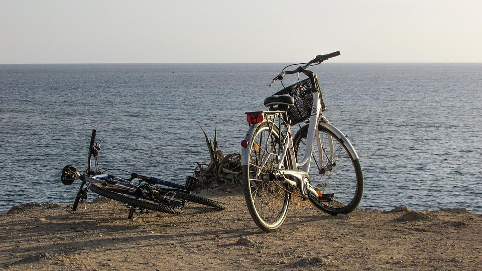 Bicycle, Sea, Bike, Nature, Cycling, Leisure
