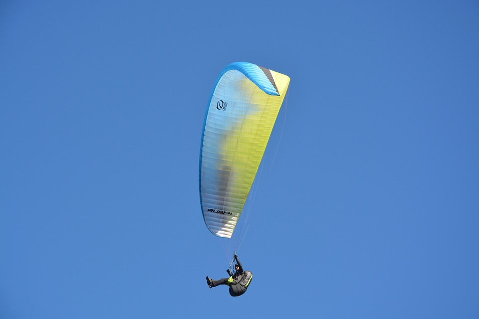 Paragliding, Free Flight, Paraglider, Sport, Leisure