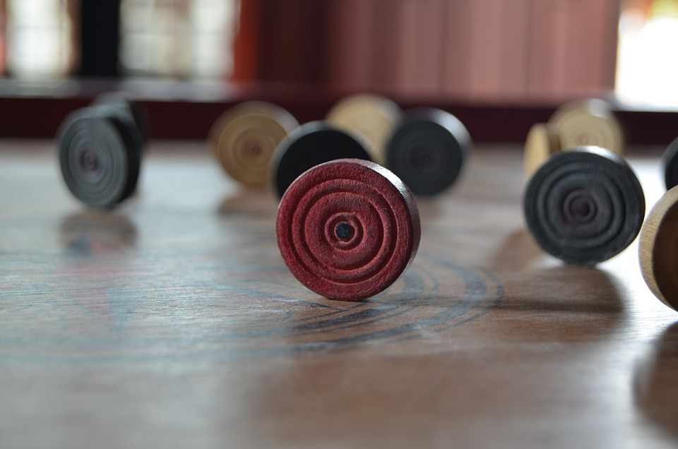 Carom, Game, Board, Games, Play, Leisure, Sport, Red