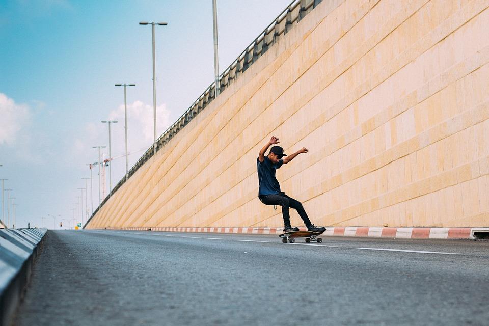 Skate, Green, Skating, Sport, Leisure, Happy, Outdoor