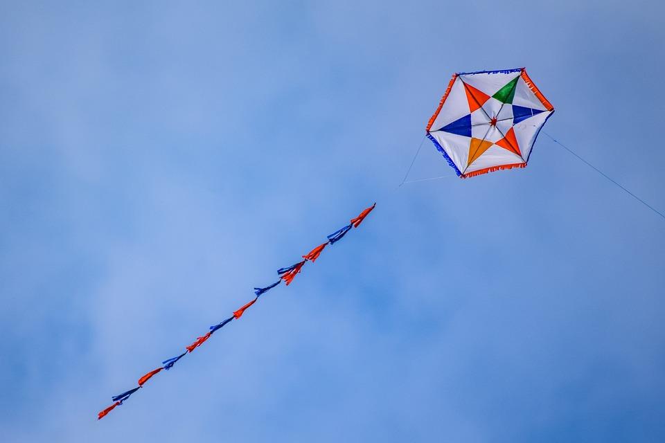 Kite, Fly, Wind, Fun, Leisure, Sky, Recreation
