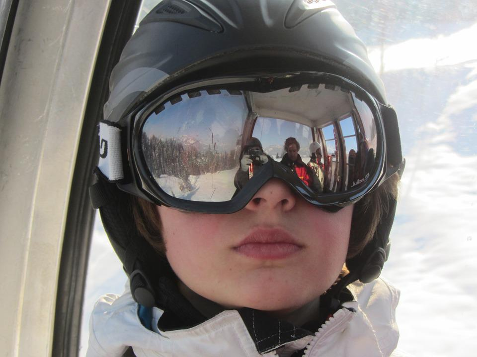 Child, Portrait, Wintersport, Glasses, Leisure, Sport
