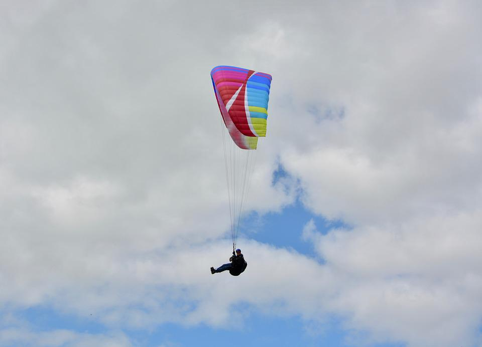 Paragliding, Free Flight, Leisure Sports Air, Fly, Sky