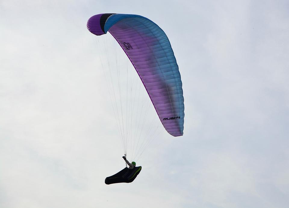 Paraglider, Leisure Sports, Free Flight